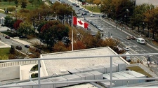 The Canadian embassy in Washington, D.C.