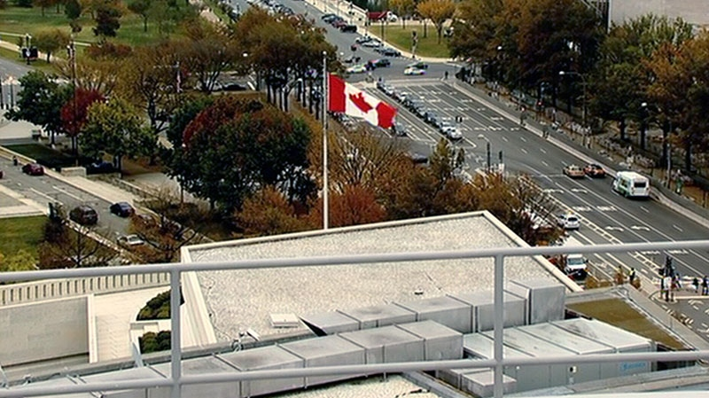 The Canadian embassy in Washington, D.C. is seen, Friday, Oct. 26, 2012.