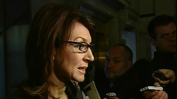 Nathalie Normandeau was Natural Resources Minister in 2010.