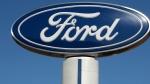 A Ford sign at the Salem Ford dealership in Salem, N.H.  (AP / Charles Krupa)