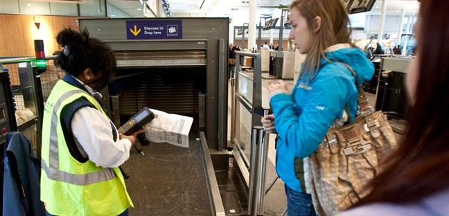Airport screeners