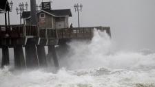 Hurricane Sandy heads towards the U.S. East Coast