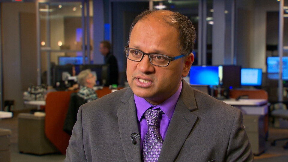 Infectious disease specialist Dr. Neil Rau speaks to CTV News about the flu outbreak.