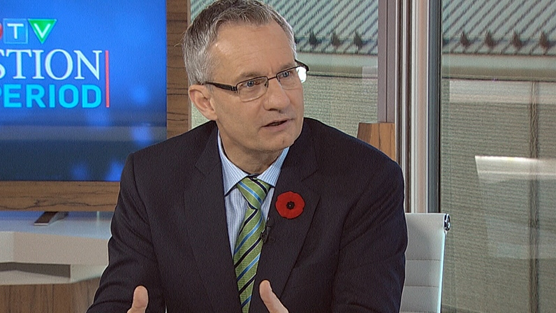 Minister of International Trade Ed Fast on CTV's Question Period, Oct. 28, 2012.