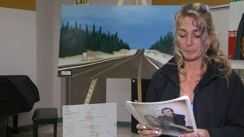 A Fort McMurray woman is in Edmonton this weekend to garner support for her petition to speed up the twinning of Highway 63, after her son died in a crash on the highway nearly a year ago.