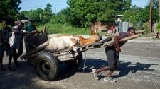 Sandy aftermath in Haiti