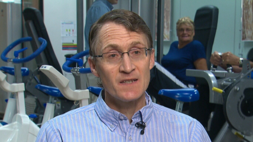 Dr. Mark Tarnopolsky, professor of pediatrics and medicine at McMaster University in Ontario speaks to CTV News about the positive health benefits exercise has on the brain in this undated image.