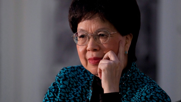 Dr. Margaret Chan in Gatineau, Que.