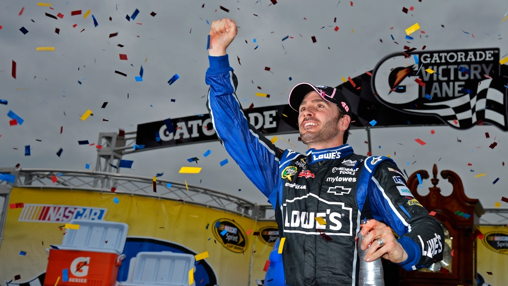 Jimmie Johnson at the NASCAR Sprint Cup Series