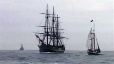 HMS Bounty rescue in North Carolina