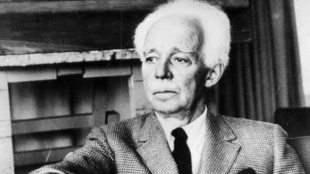 File photo of Canadian painter Lawren Harris