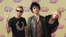 Green Day on the red carpet