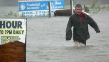 Hurricane Sandy slams U.S. east coast