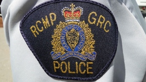 A patch on an RCMP uniform is shown in this undated file photo. (CTV News)