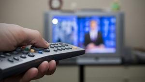Watching TV news