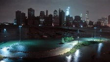 New York loses power after Sandy