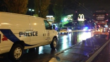 McDonald's shooting in East Vancouver