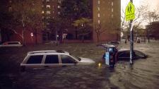 Sandy hits New York