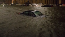 sandy new york storm batters area flooding power