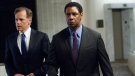 Bruce Greenwood and Denzel Washington in Paramount Pictures' 'Flight'