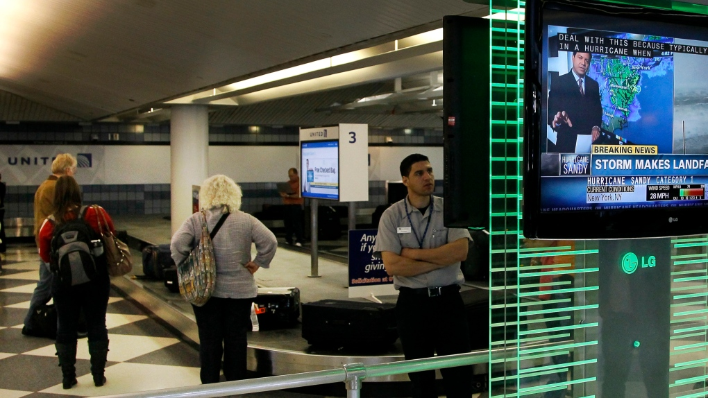 Chicago's O'Hare Airport on Oct. 29, 2012.