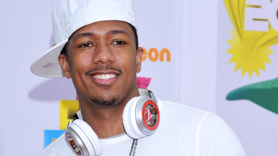 Nick Cannon arrives at Nickelodeon's 24th Annual Kids' Choice Awards in Los Angeles on Saturday, April 2, 2011. (AP / Vince Bucci)