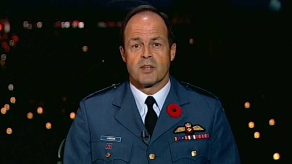 Canada's newly appointed top military officer Lt.-Gen. Tom Lawson speaks to CTV's Canada AM Tuesday, Oct. 30, 2012.