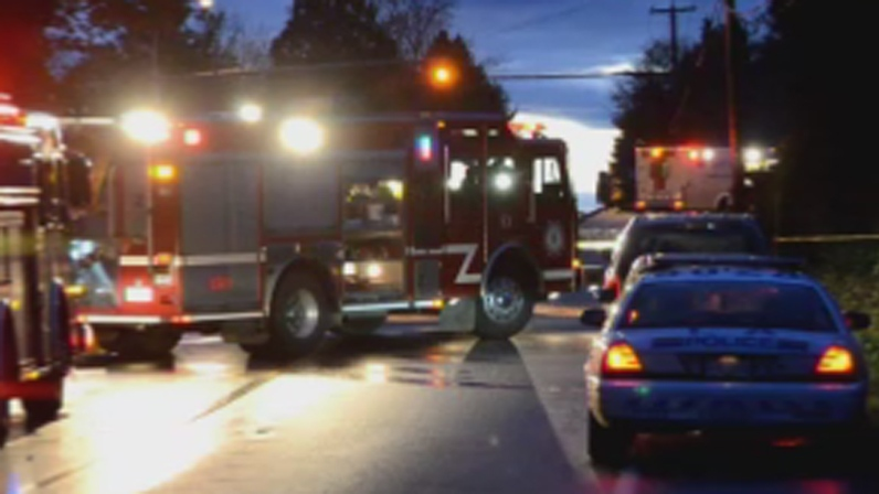 The Independent Investigations Office is investigating after a fatal crash in Langley on Oct. 29, 2012. (CTV)