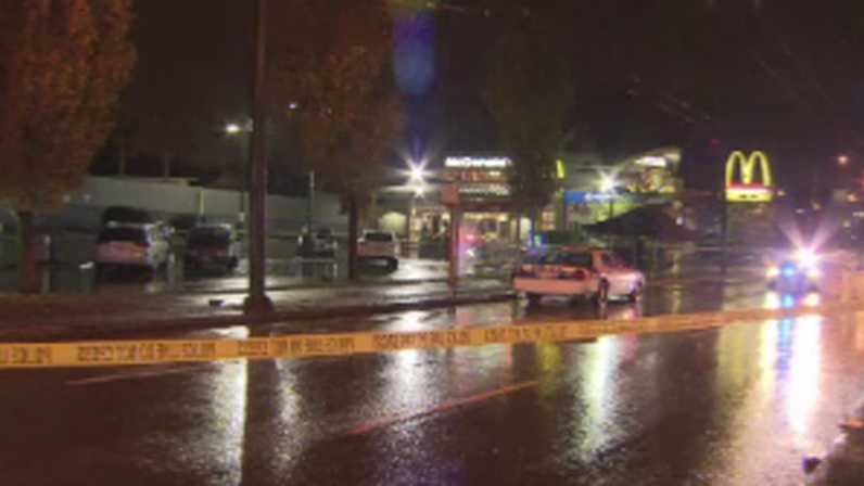 The IIO is investigating after a man was fatally shot by police at a Vancouver McDonald's on Oct. 29, 2012. (CTV)