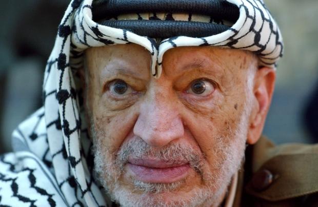 Palestinian leader Yasser Arafat exhumed