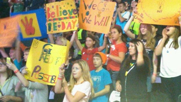 Over 16,000 students from across the province will be participating in We Day Manitoba at the MTS Centre this year.