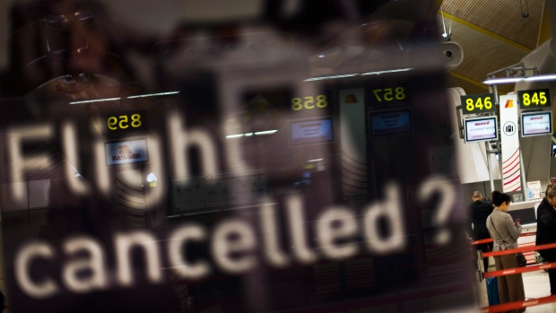 airport cancellations sandy