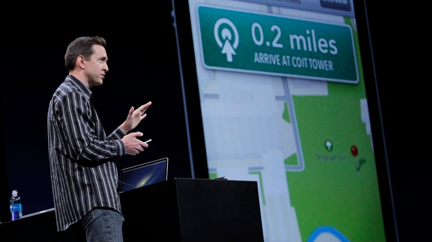 Apple executive Scott Forstall ousted Maps error