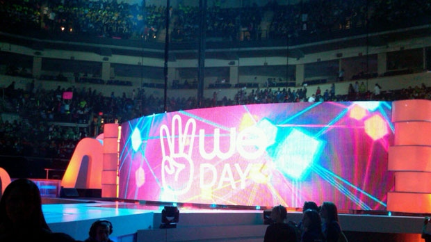 Over 18,000 students attended the second annual We Day at the MTS Centre Tuesday.
