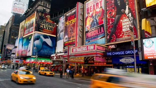 Broadway, New York, Sandy