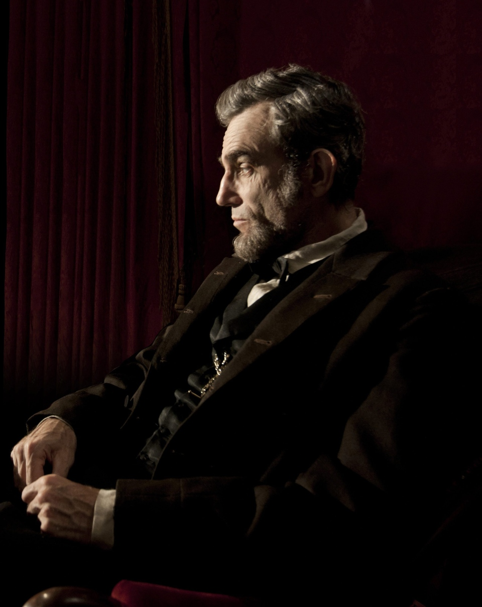 Daniel Day-Lewis portraying Abraham Lincoln in Disney-DreamWorks' 'Lincoln'