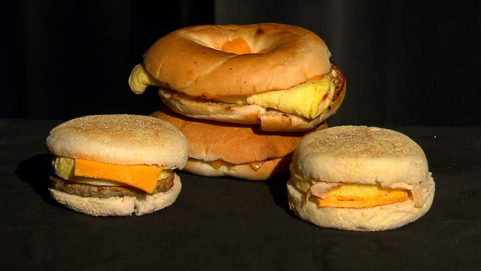 Study reveals that the popular breakfast sandwich may damage blood vessels in just two hours.