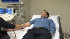 Measuring blood flow