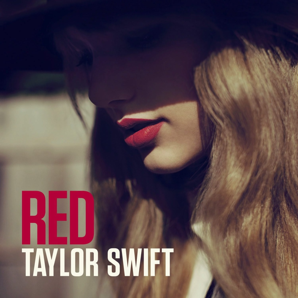 This CD cover image released by Big Machine Records shows the latest album by Taylor Swift, 'Red.' (Big Machine Records)