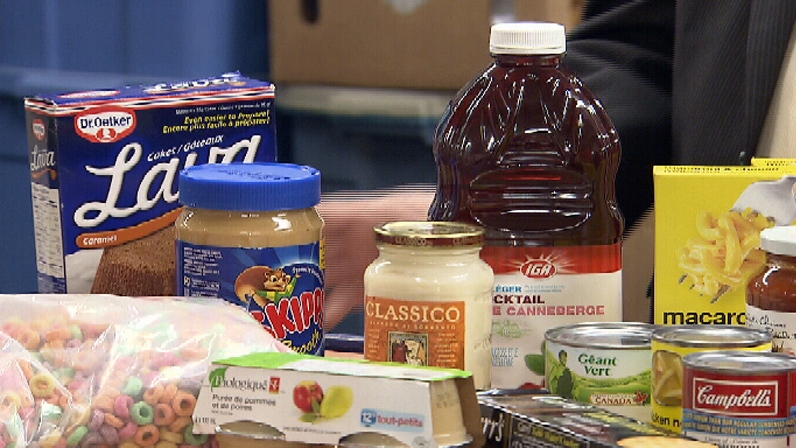 People in need of food banks has increased in B.C. significantly since 2008. Oct. 31, 2012. (CTV)