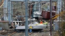 Sandy damage in New York