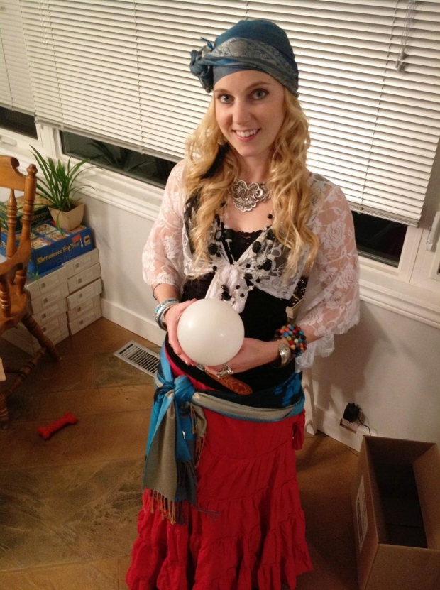 "@Lark_Begin tweets in ""fortune teller #Halloween costume :)"""
