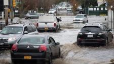 New York Sandy damage