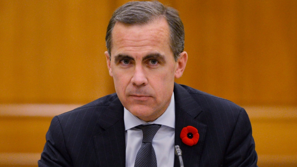Bank of Canada Governor Mark Carney appears at a Commons finance committee in Ottawa, Tuesday Oct. 30, 2012 . (Adrian Wyld / THE CANADIAN PRESS)