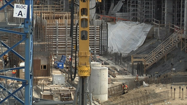 Canada's economic growth flat in February, matching estimates