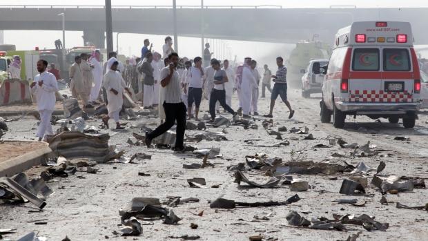 Fuel truck explosion in Riyadh, Saudi Arabia