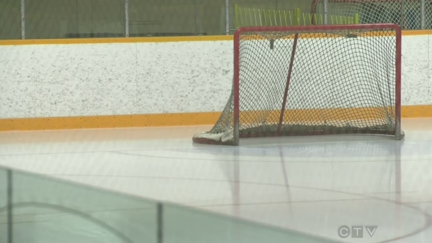 Hockey player suspended