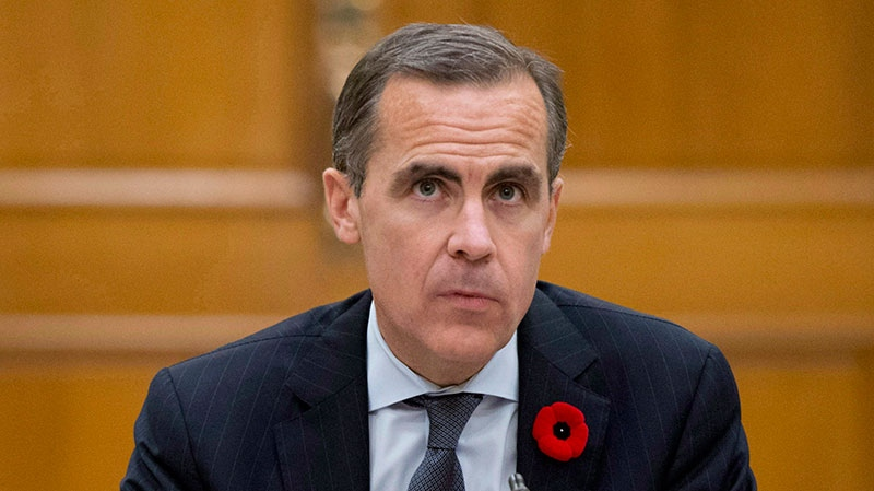 Bank of Canada Governor Mark Carney waits to appear at the Commons finance committee in Ottawa, Tuesday October 30, 2012. (Adrian Wyld / THE CANADIAN PRESS)