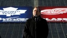 NHL hockey Winter Classic Toronto Detroit