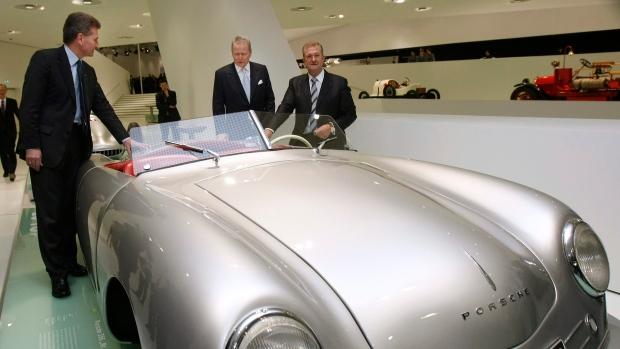 First Porsche sports car featured in museum